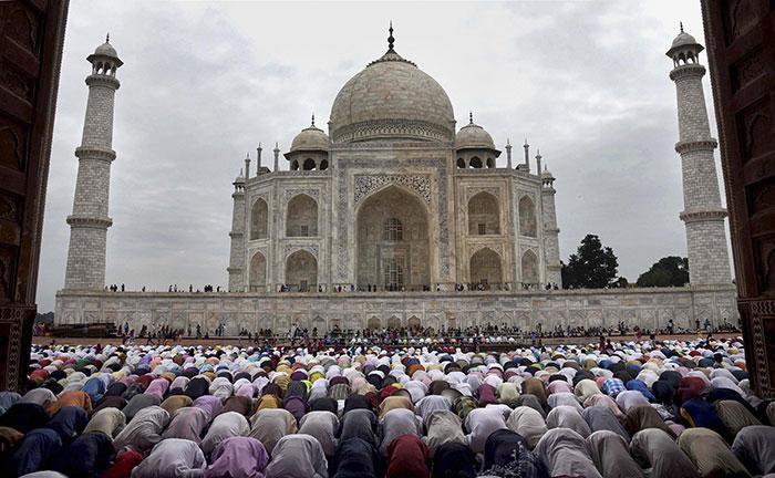 Pics: Eid al-Adha Celebrated Across India