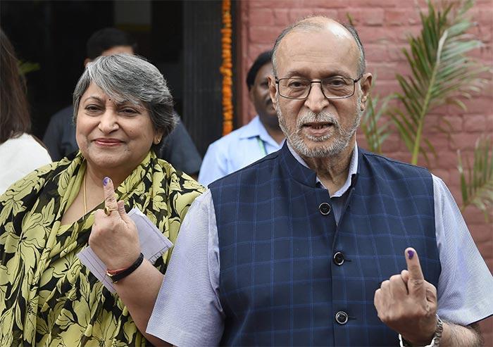 Politicians, Sportsmen Vote In Delhi, Gurgaon In Phase 6 Of Lok Sabha Polls