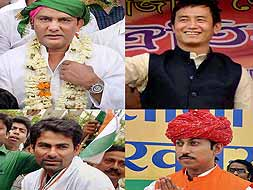 Photo : Elections 2014: Sport stars gear up for their political innings