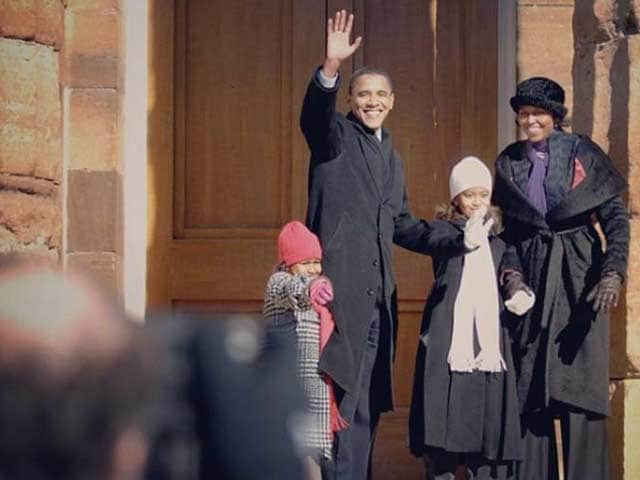 Photo : US polls: तस्वीरों में देखें ओबामा, ट्रंप और क्लिंटन की परफेक्ट फैमिली