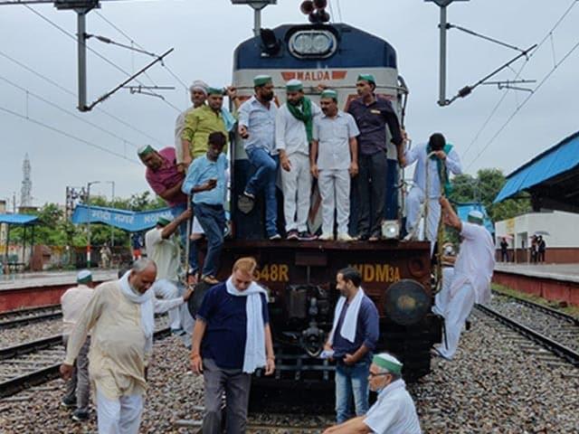 Photo : Farmers Body Calls For 'Rail Roko' Protest Over Farmers' Killing In Uttar Pradesh