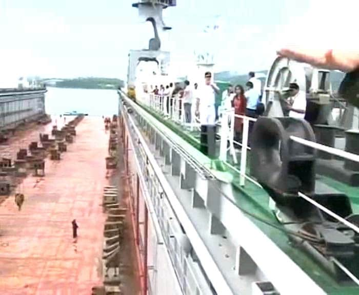 Indian Navy\'s first floating dock