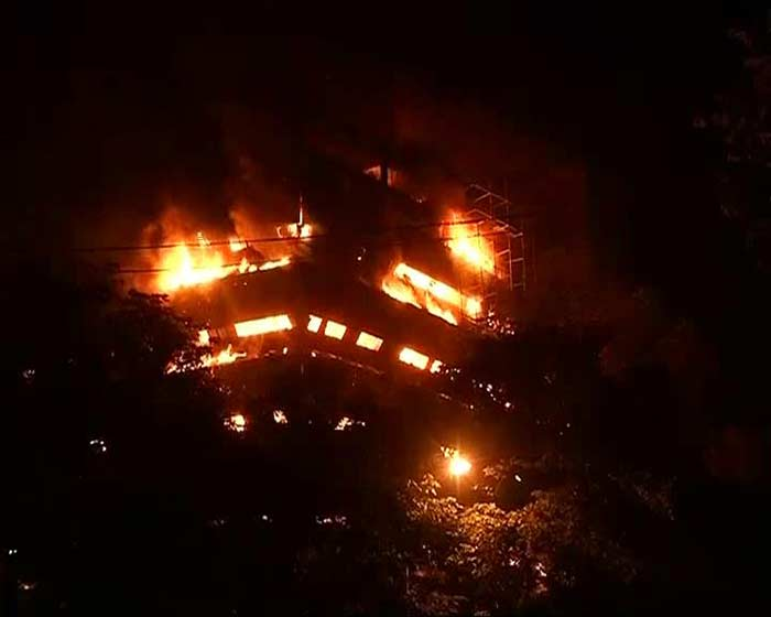 Delhi\'s National Museum Of National History Caught In Massive Fire: Pics