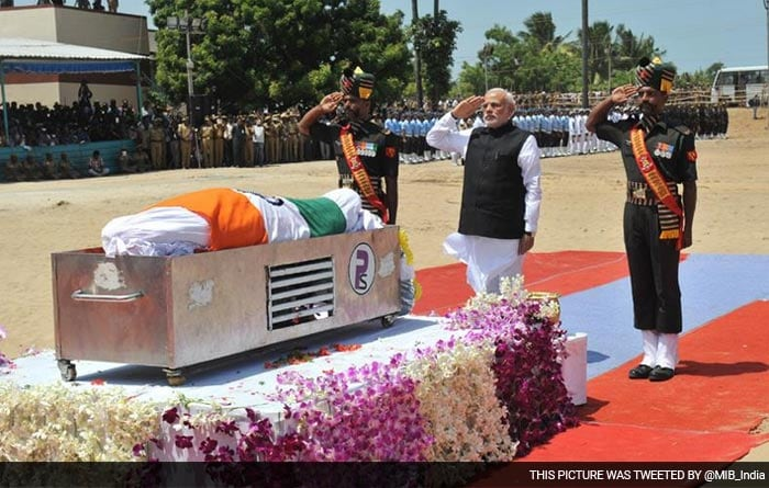 5 Unforgettable Images as India says goodbye to Dr Kalam