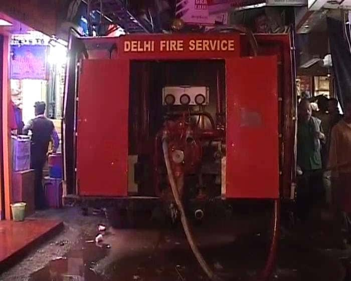 Fire In Chandni Chowk