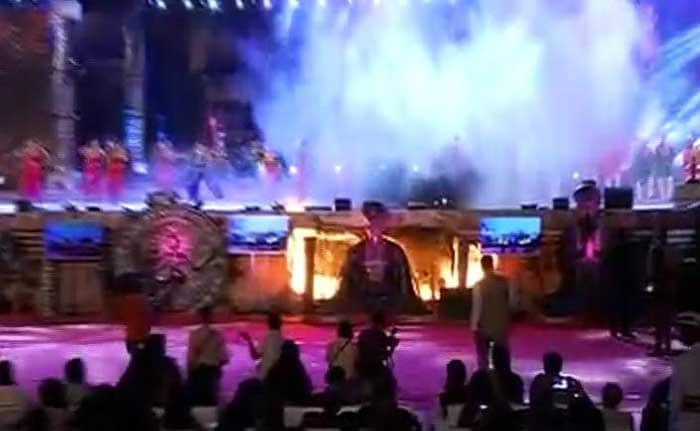 'मेक इन इंडिया' के सेट पर लगी भीषण आग, ये हस्तियां थीं मौजूद
