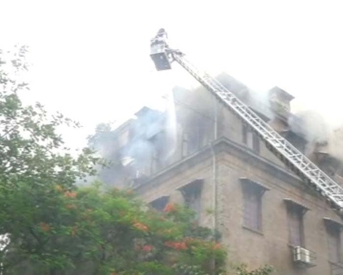 Fire breaks out in Mumbai government building