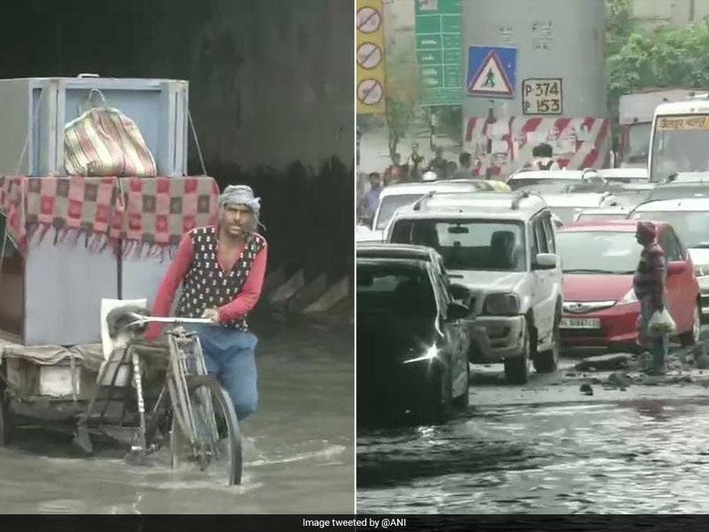 Photo : बाढ़ से बेहाल हुआ असम, कर्नाटक और तमिलनाडु, दिल्ली में भी हुआ जलजमाव