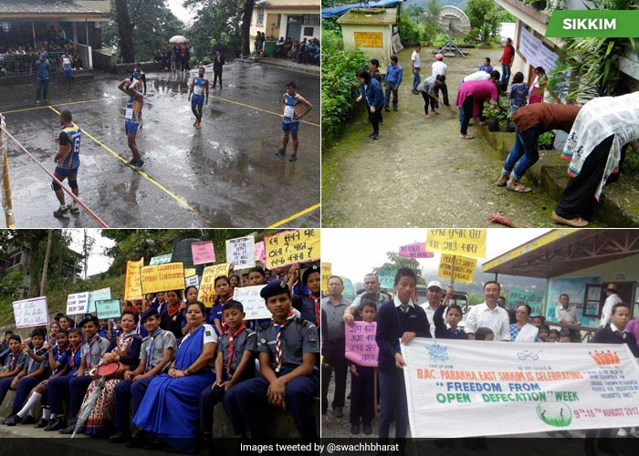 In Pics: How India Is Celebrating \'Freedom From Open Defecation\' Week