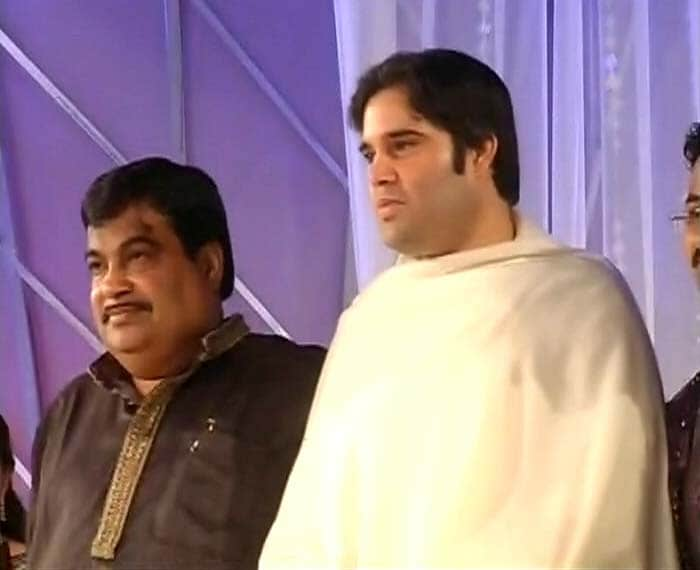 The big-bang Gadkari wedding celebrations
