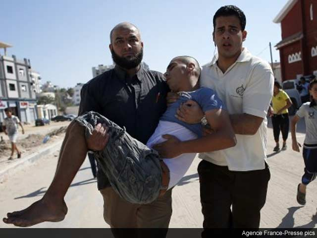 Photo : Israeli Strike Kills Four Boys On Gaza Beach