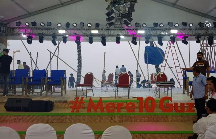 Photo : #SwachhIndia: 12 घंटे के क्लीनाथॉन की मुंबई में कुछ ऐसे हुई तैयारी