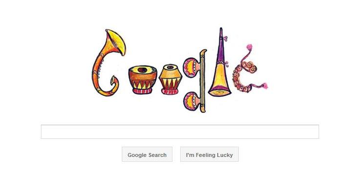 Top 5 Google doodles