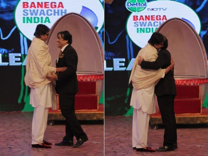Govinda\'s Glorious Tribute to Amitabh Bachchan at NDTV\'s Cleanathon