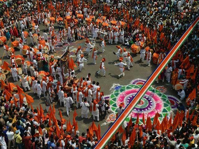 Gudi Padwa Festival Celebrating Gudi Padwa