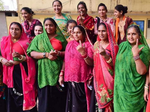 Photo : Gujarat Votes For 89 Seats In First Phase Of Assembly Polls
