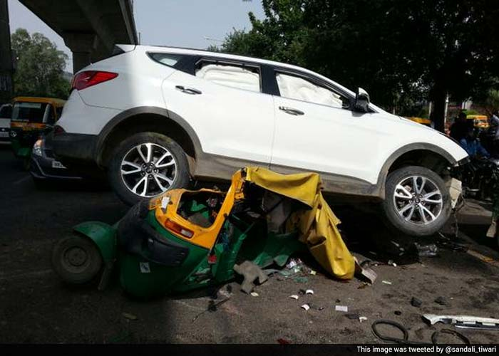 Shootout In Gurgaon Gunmen Open Fire On Suv Driver Reported