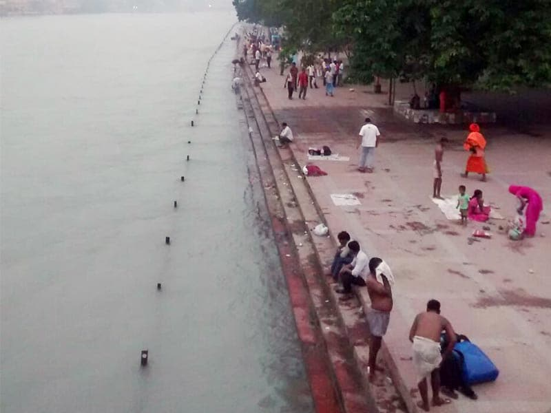 Photo : Haridwar: Cleanliness Drive At The Ancient City
