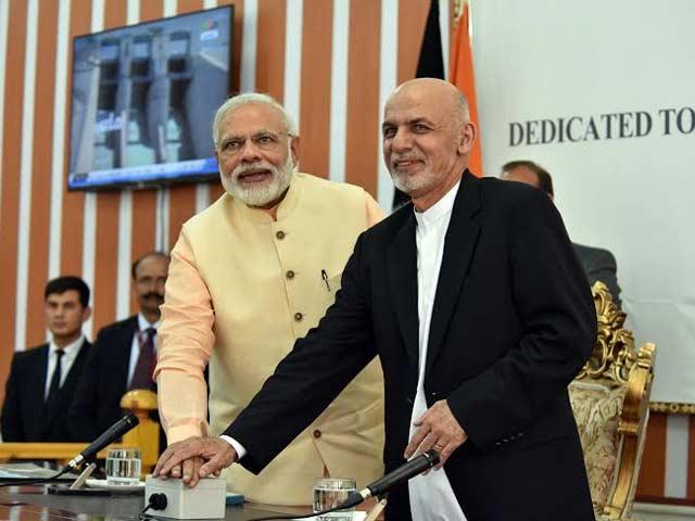 Photo : पीएम मोदी ने किया अफगानिस्तान-भारत मैत्री बांध का उद्घाटन