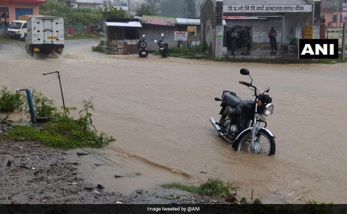 Rains Pound Himachal Pradesh, Uttarakhand, Heavy Rain Alert Issued