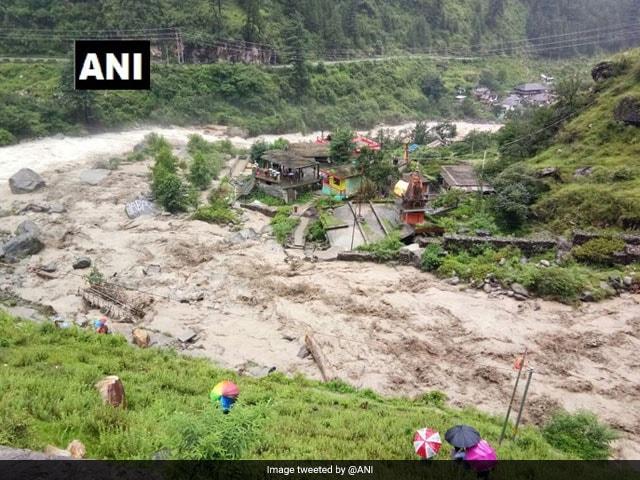 Photo : Rains Pound Himachal Pradesh, Uttarakhand, Heavy Rain Alert Issued