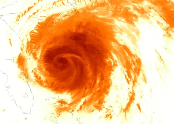 Nature\'s fury: Hurricane Irene