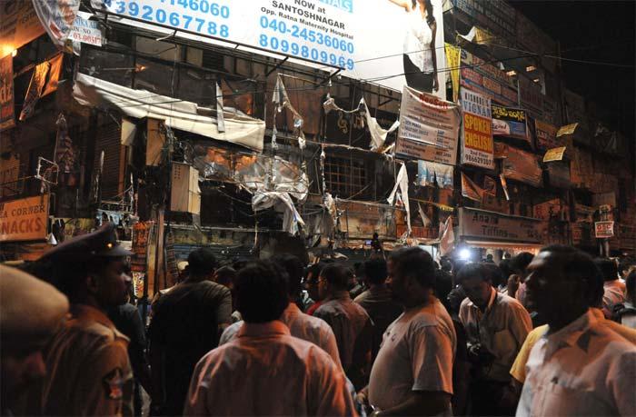 Bomb blasts in Hyderabad