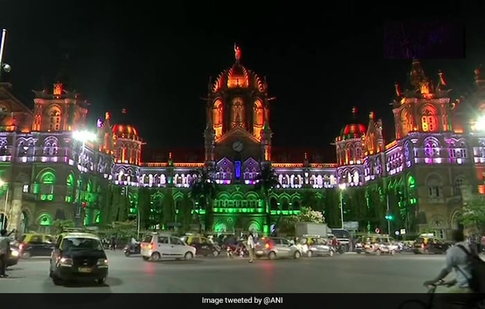 Saffron, White, Green Light Up Cities On 73rd Independence Day Eve