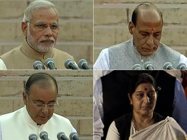 Photo : Team Modi: The New Cabinet