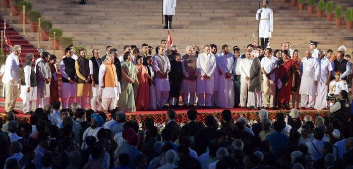 Team Modi: The New Cabinet