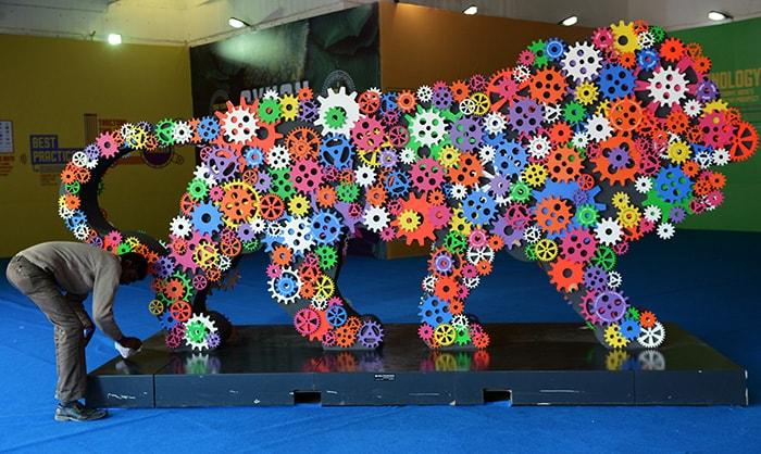 A Peek into India International Trade Fair