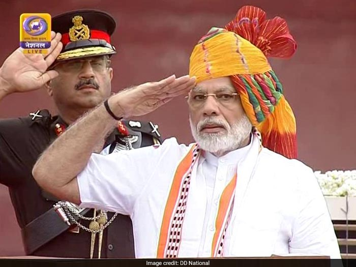 India Celebrates 73rd Independence Day, PM Modi At Red Fort
