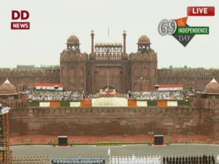 Photo : <i>जय हिन्द</i>: भारत का 69 वां स्वतंत्रता दिवस