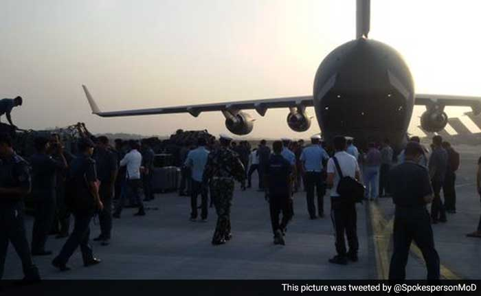 India Assists Nepal in Rescue Operation After Massive Earthquake