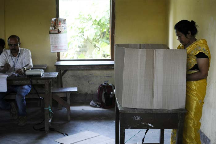 India votes in Phase 6 of elections