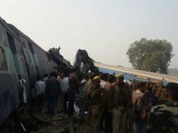 इंदौर-पटना ट्रेन हादसे की दर्दनाक तस्वीरें
