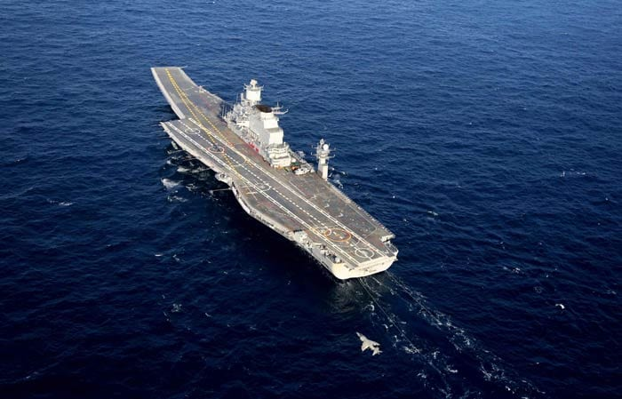 India's biggest ship, aircraft carrier INS Vikramaditya