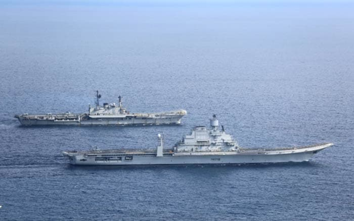 India's biggest ship, aircraft carrier INS Vikramaditya, finally arrives