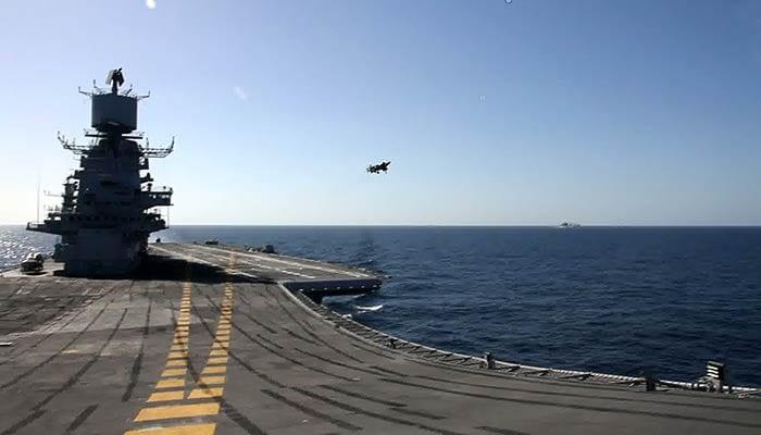 India\'s biggest ship, aircraft carrier INS Vikramaditya, finally arrives