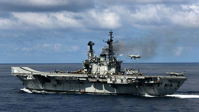 INS Viraat, Oldest Aircraft Carrier, Is Ready To Retire. See Pics