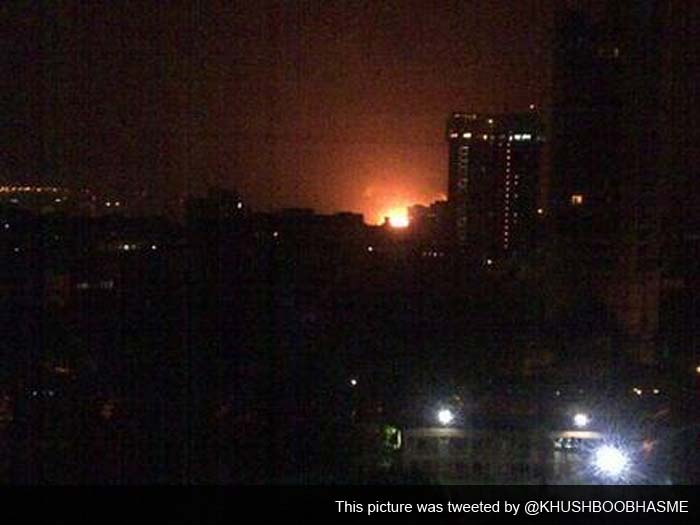INS Sindhurakshak catches fire after explosion