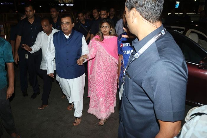 In Pics: Isha Ambani, Fiance Anand Piramal Visit ISKCON Temple In Mumbai