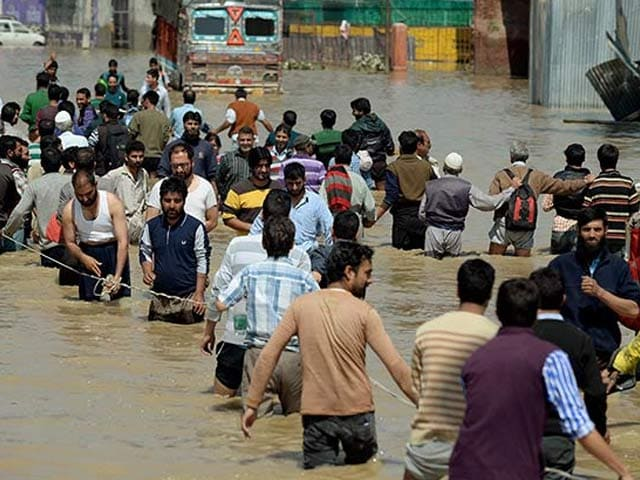 Photo : Jammu & Kashmir Floods; Worst in 100 Years