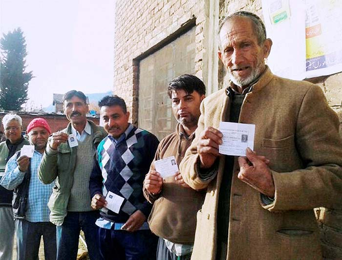 Long Queues, Brisk Polling in First Phase of J&K Assembly Elections