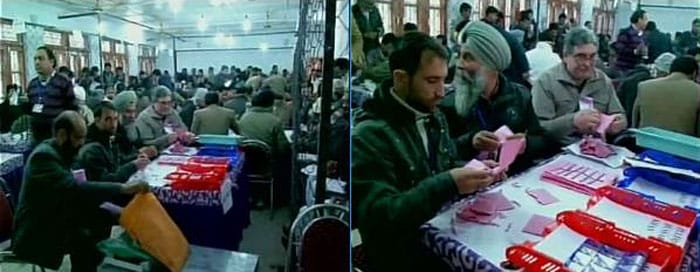 Kashmir Elections: Inside the Counting Centres