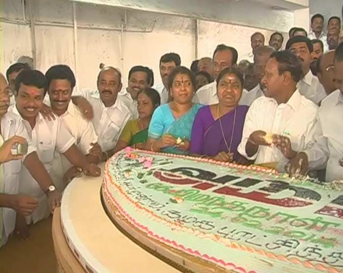 Jayalalitha Birthday Cake
