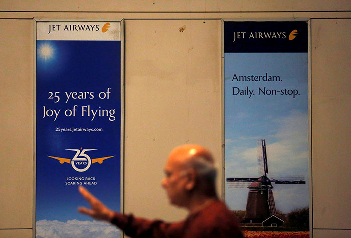 Tears, Anger As Employees Launch Protest To \'Save Jet Airways\'