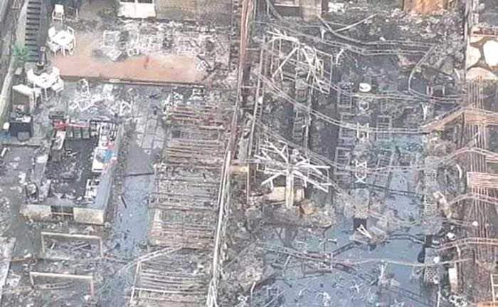 Massive Fire Breaks Out At Kamala Mills In Mumbai Killing14, Injuring At Least 12: Pics