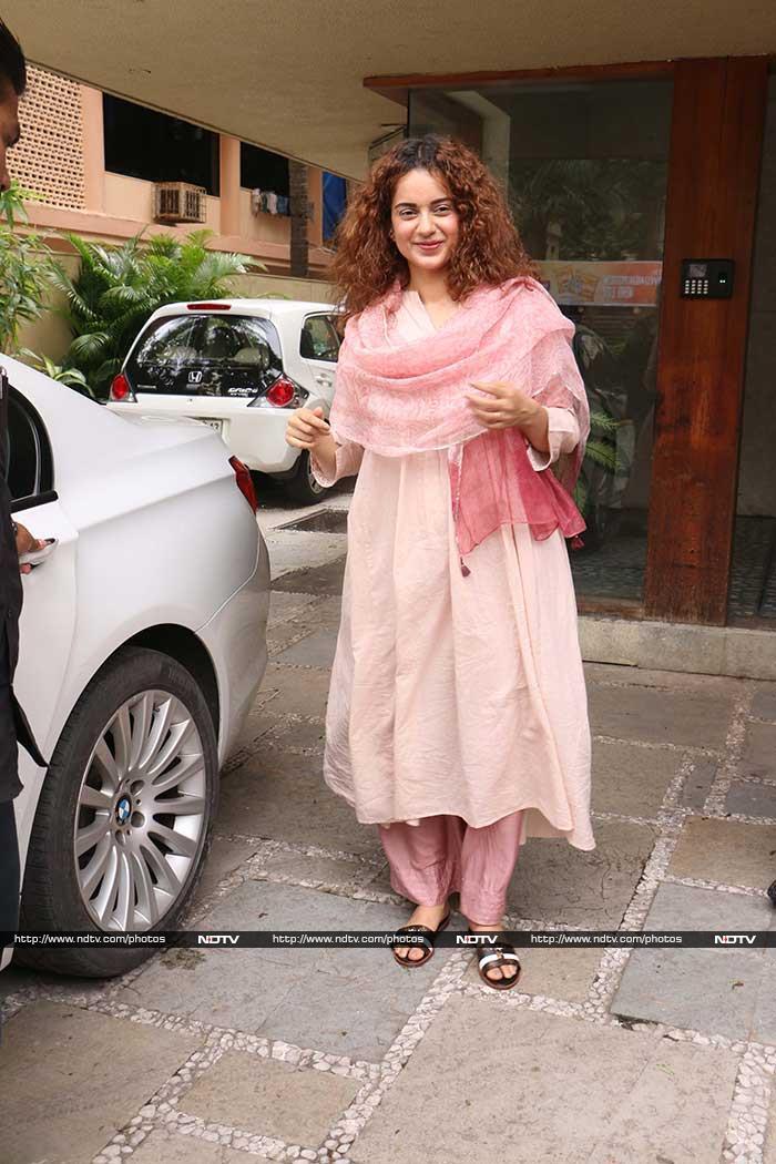 Kangana Ranaut, Summer Ready In Soothing Pink