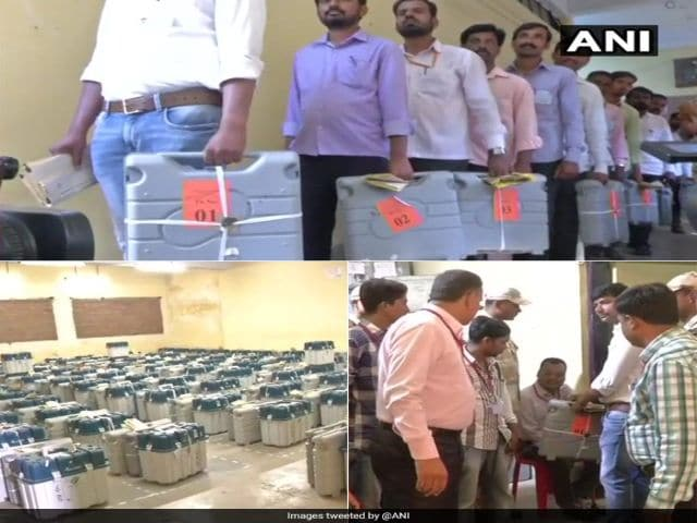 Photo : Karnataka Assembly Elections 2018 Results: Gearing Up For The Verdict